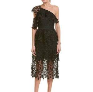 Joie Belisa Lace Black Dress